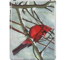 Winter Cardinal iPad Case/Skin