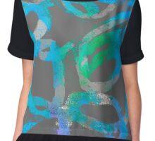 Float Away abstract art Chiffon Top