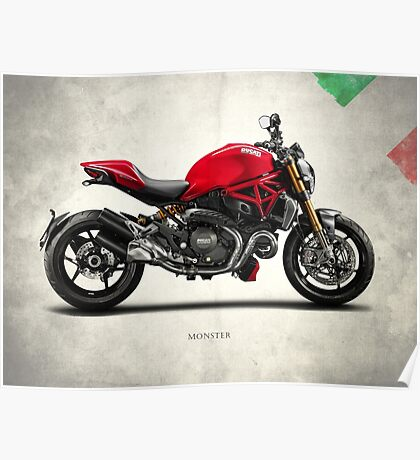 The Monster 1200S Poster