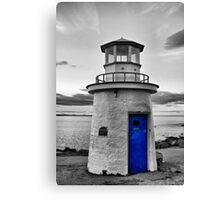 Miniature Lighthouse II - SC Canvas Print