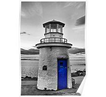 Miniature Lighthouse II - SC Poster