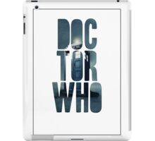 Doctor Who Graphic Art iPad Case/Skin