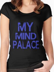 MY MIND PALACE Women's Fitted Scoop T-Shirt