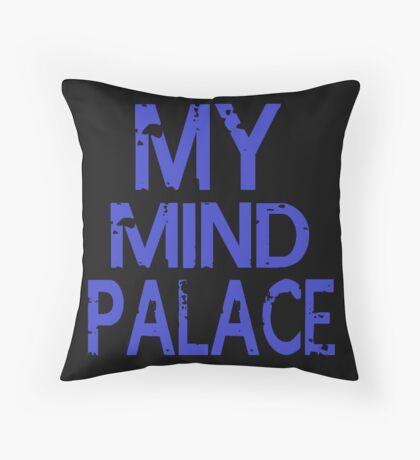 MY MIND PALACE Throw Pillow