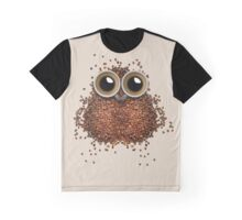 Night Owl Coffee Graphic T-Shirt