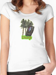 """""""Diane"""" Women's Fitted Scoop T-Shirt"""