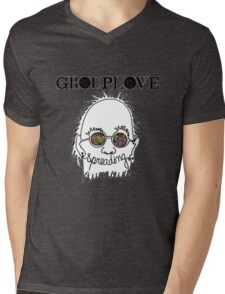 grouplove logo Mens V-Neck T-Shirt