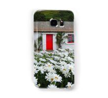 Irish Cottage With Daisies Samsung Galaxy Case/Skin