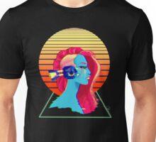 Synthwave Girl Unisex T-Shirt