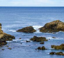 Idyllic view of a coast in Spain Sticker