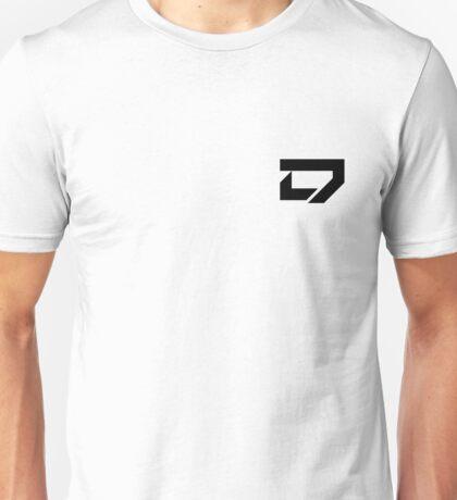 Dreamscape - Corner Logo (Black) Unisex T-Shirt
