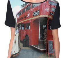 British Bar Bus Chiffon Top