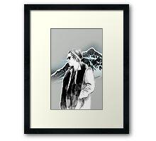 Harry winter Framed Print