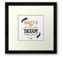 dream thief Framed Print