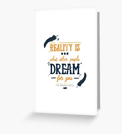 dream thief Greeting Card