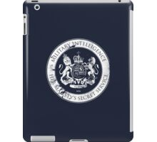 On her Majesty's secret service logo iPad Case/Skin