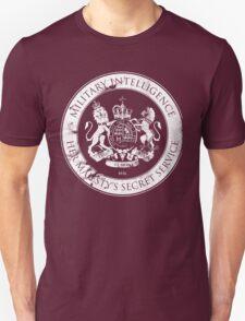 On her Majesty's secret service logo T-Shirt