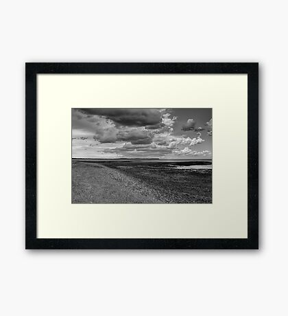 Calm before the storm 2 Framed Print