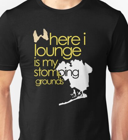 stomping grounds - queens Unisex T-Shirt