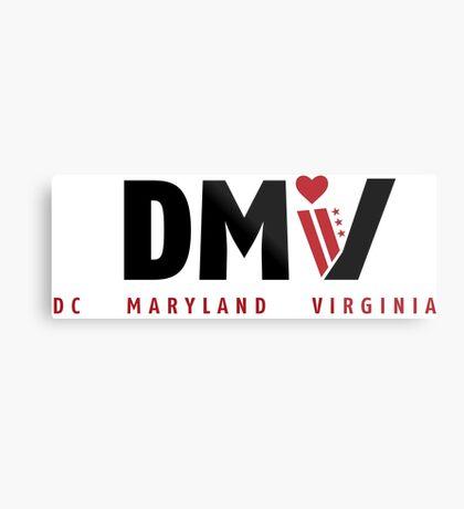 DMV Love Metal Print