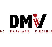 DMV Love Photographic Print