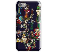 Renaissace Eastern Europe National Personifications Map iPhone Case/Skin