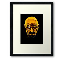 Walter White - Heisenberg - Breaking Bad Framed Print