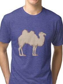 Plain Ole Doublehump Camel Tri-blend T-Shirt