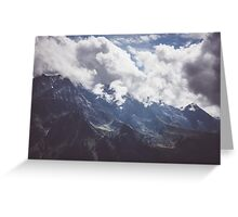 Mountain Summer Greeting Card