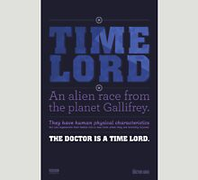 Doctor Who - Time Lord Infographic Unisex T-Shirt