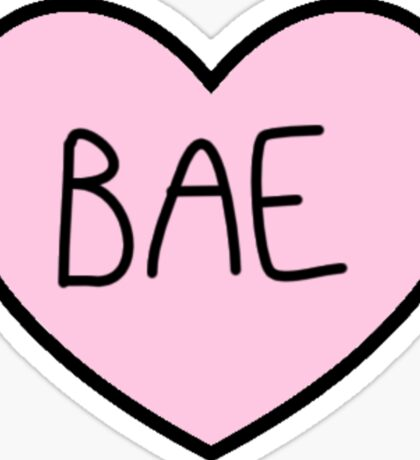 BAE HEART TUMBLR Sticker