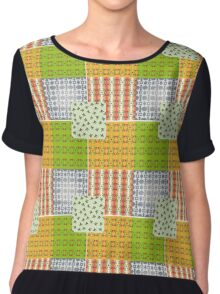 Collection of natural ornaments Chiffon Top