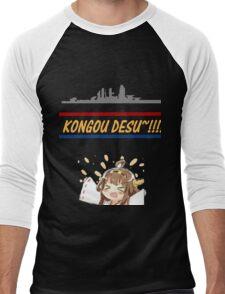 Kongou Desu Men's Baseball ¾ T-Shirt