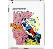 Comic Book Rock Crash! iPad Case/Skin