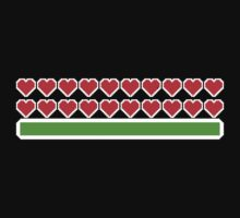 Pixel Hearts One Piece - Long Sleeve