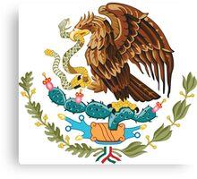Mexico Escudo  Canvas Print