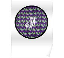 Joker Batman Suicide Squad Poster