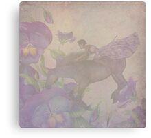 The Purple Ride Canvas Print