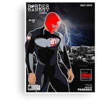 El Paso News July 2015 Comic Book Cover Canvas Print