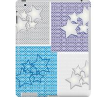 Collection of star backgrounds iPad Case/Skin