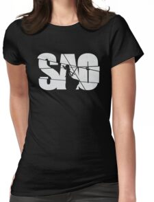 SAO Anime Manga Shirt Womens Fitted T-Shirt