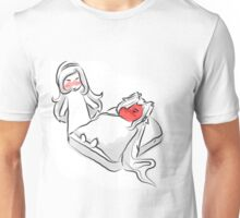 A Tomato and Cheese Sandwich  Unisex T-Shirt