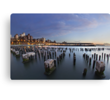 Brooklyn By The Sea Canvas Print