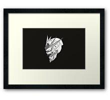 Gundam x Eva  Framed Print