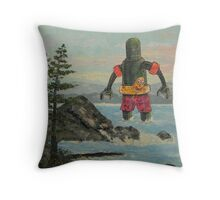 Summer Break! Throw Pillow