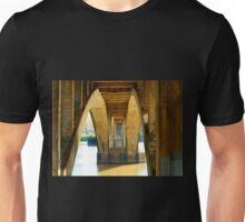 Reflected Light on the Broadway Bridge Unisex T-Shirt