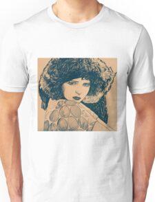 MOVIE STARS CLARA BOW Unisex T-Shirt