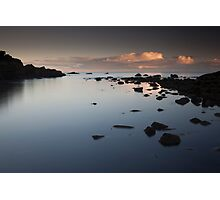 collieston sunset Photographic Print