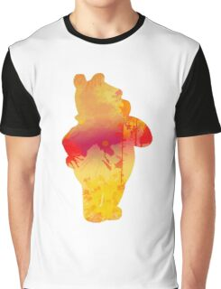 Bear Inspired Silhouette Graphic T-Shirt
