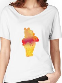 Bear Inspired Silhouette Women's Relaxed Fit T-Shirt